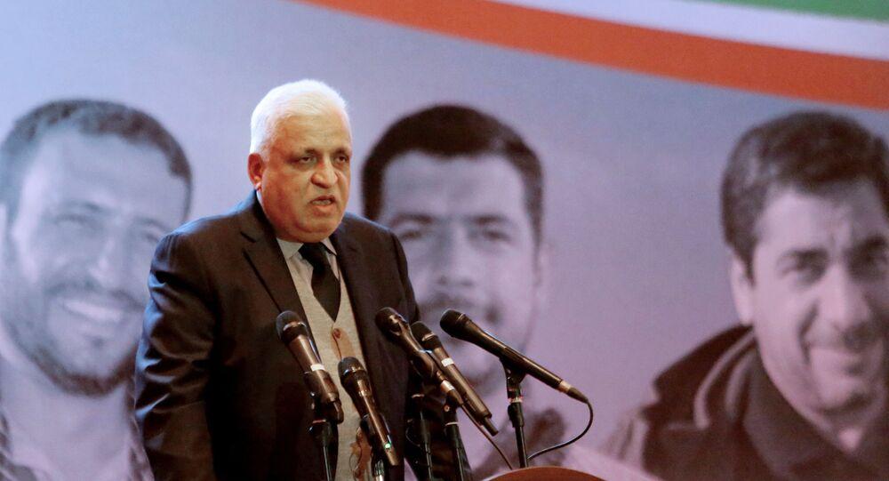 رئيس هيئة الحشد الشعبي في العراق، فالح الفياض