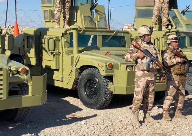 القوات العراقية، العراق فبراير 2020