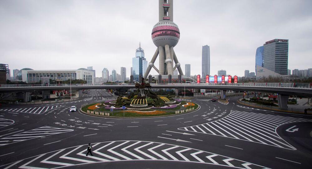 انتشار فيروس كورونا، شنغهاي، الصين فبراير 2020