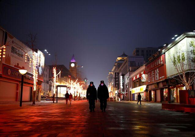 انتشار فيروس كورونا، بكين، الصين فبراير 2020
