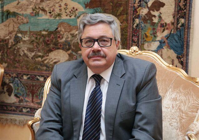 السفير الروسي لدى تركيا، أليكسي يرخوف