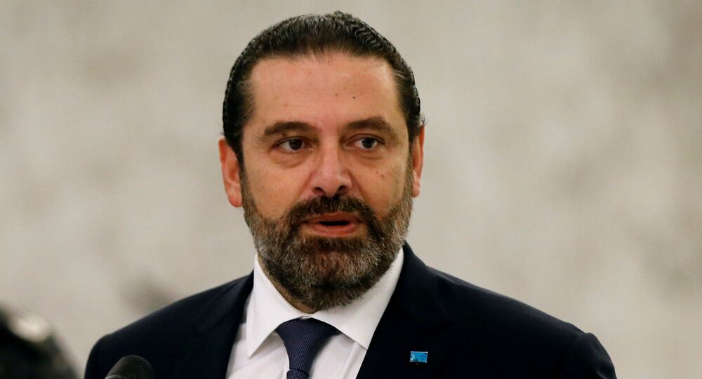 رئيس وزراء لبنان السابق سعد الحريري