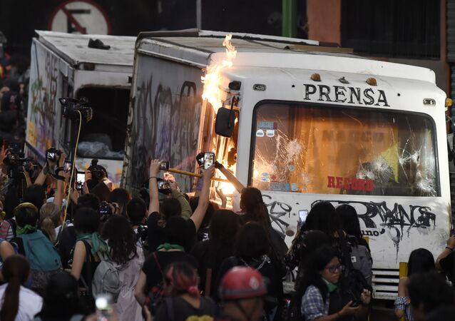 مظاهرات المكسيك