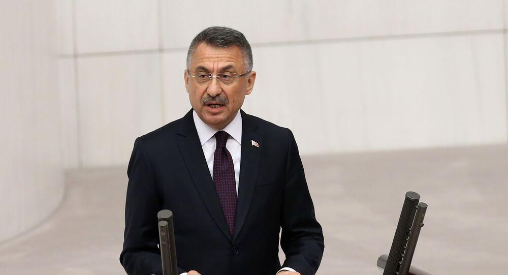 فؤاد أقطاي نائب الرئيس التركي