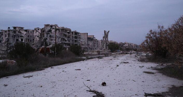 الجيش السوري في جمعية الزهراء غرب حلب