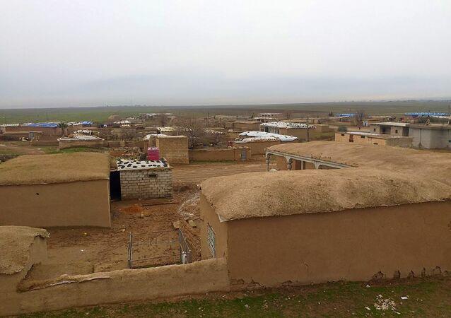 قرية خربة عمو بريف القامشلي شمال شرق محافظة الحسكة، سوريا