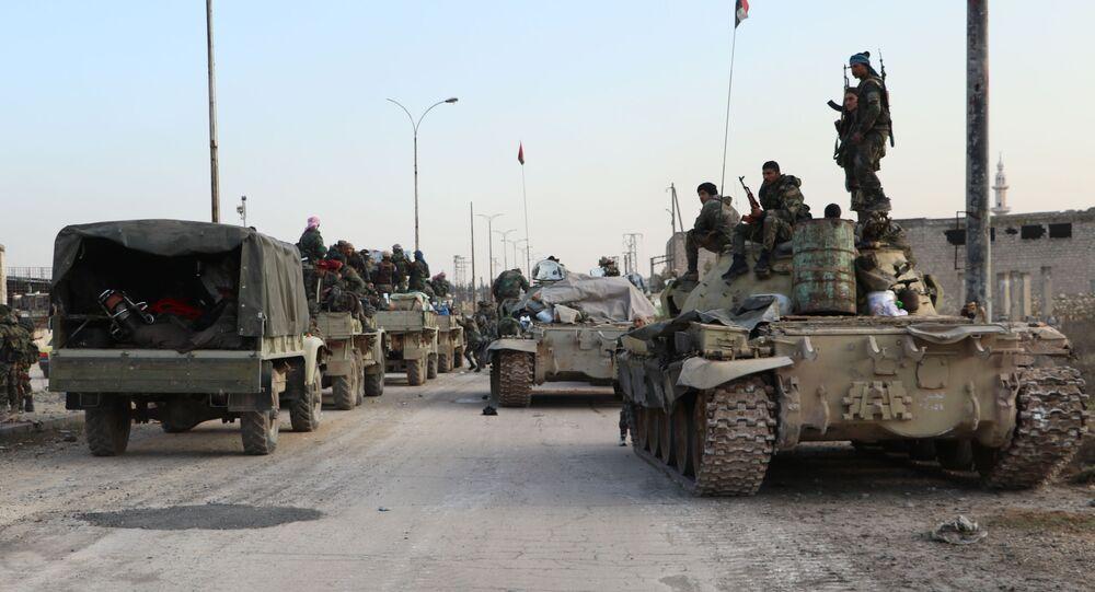 الجيش السوري بعد تحرير ضواحي حلب الشمالية الغربية