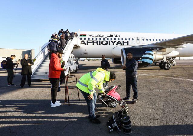 مطار معيتيقة الدولي في ليبيا