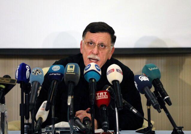رئيس المجلس الرئاسي لحكومة الوفاق الوطني الليبية، فايز السراج