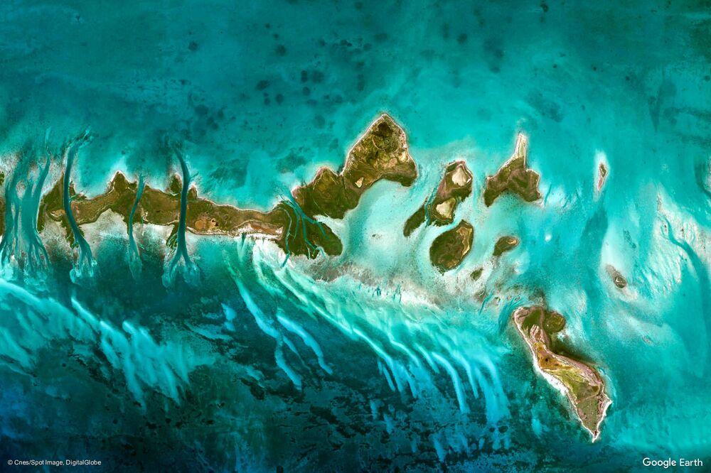 صورة لكوبا من الفضاء