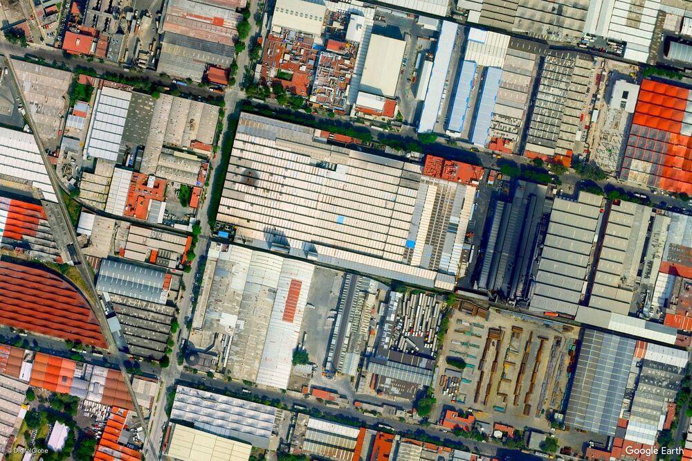 صورة من الفضاء لمدينة مكسيكو، المكسيك