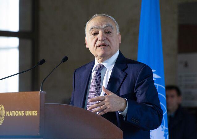 المبعوث الأممى إلى ليبيا غسان سلامة