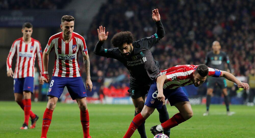 مباراة أتلتيكو مدريد وليفربول (1-0) في دوري أبطال أوروبا