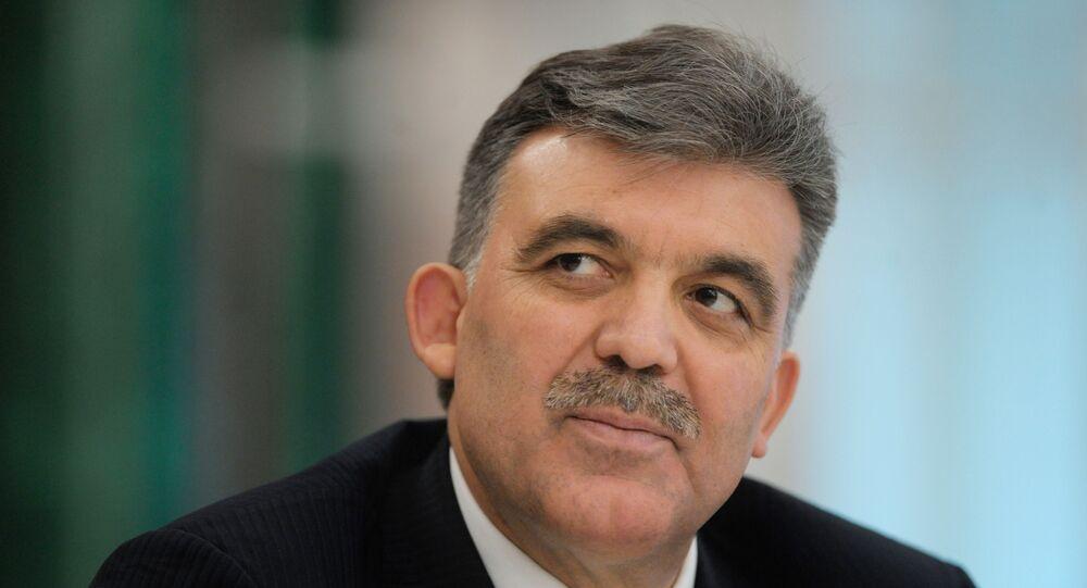 الرئيس التركي السابق، عبدالله جول، فى زيارة رسمية سابقة لروسيا