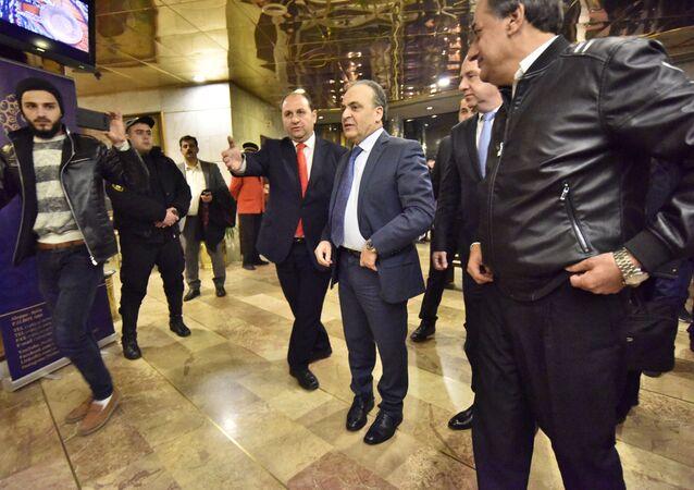 اجتماع الحكومة السورية في حلب