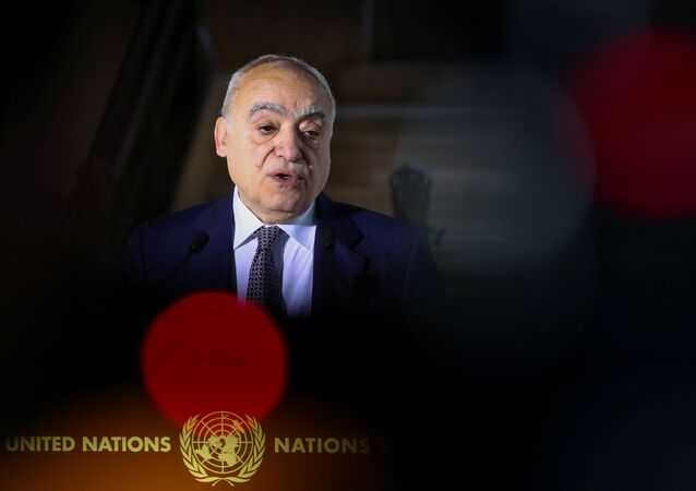 مبعوث الأمم المتحدة الخاص إلى ليبيا غسان سلامة