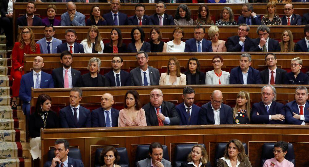 البرلمان الإسباني