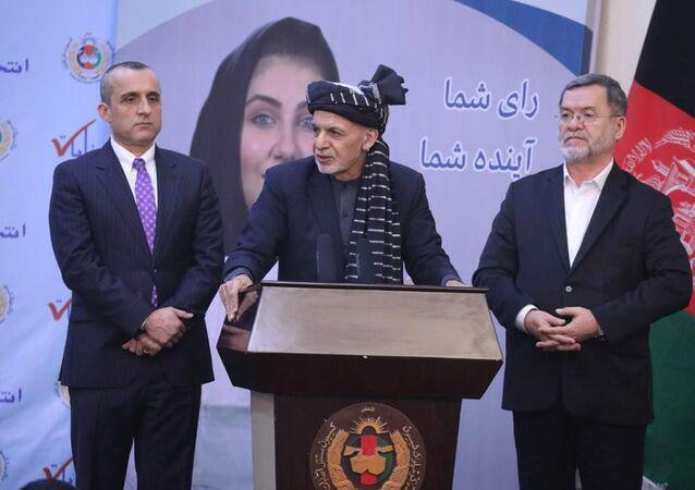 الرئيس الأفغاني أشرف غني