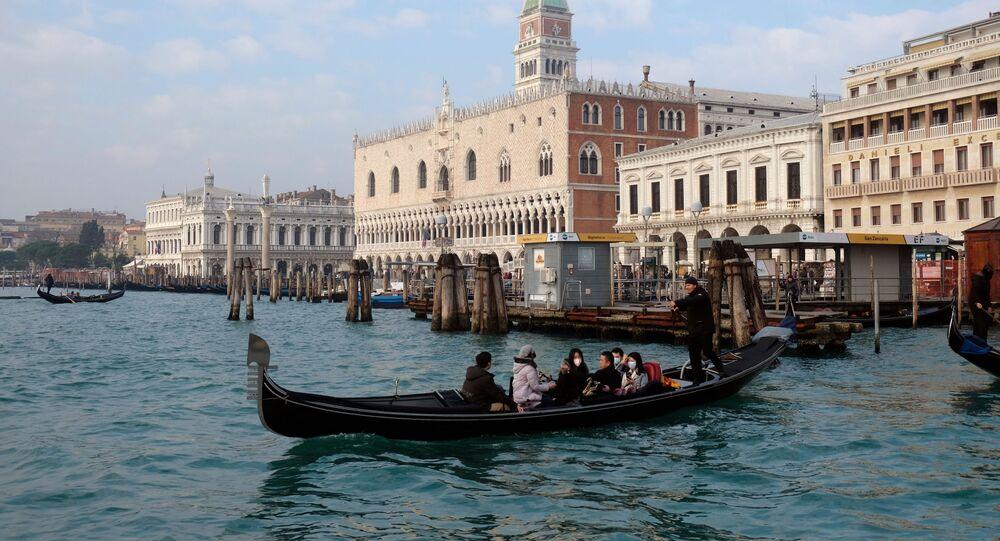 تفشي فيروس كورونا في إيطالية بمدينة البندقية