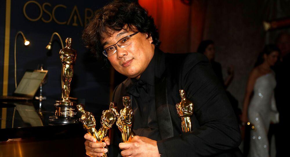 بونغ جون هو مخرج الفيلم الكوري الجنوبي باراسايت الحائز على أوسكار أفضل فيلم لعام 2020