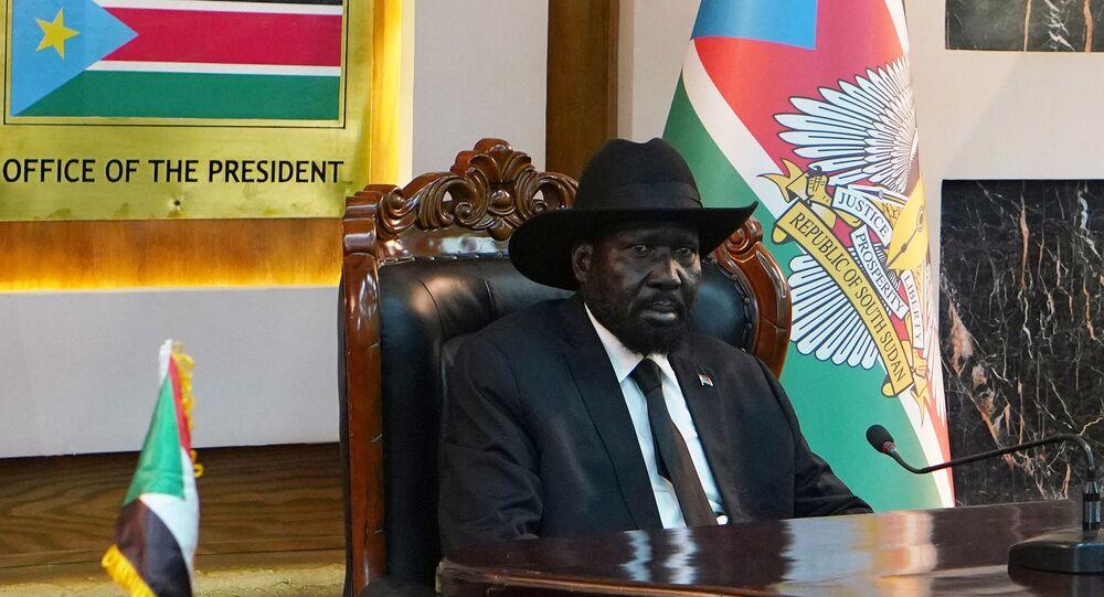 سلفاكير رئيس جنوب السودان