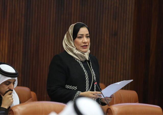 البرلمانية البحرينية فاطمة القطري