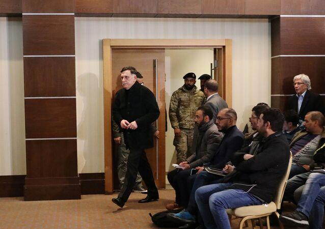 رئيس حكومة الوفاق الوطني الليبية، فائز السراج
