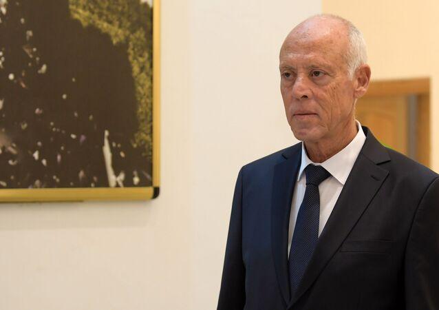 Le Président tunisien Kaïs Saied
