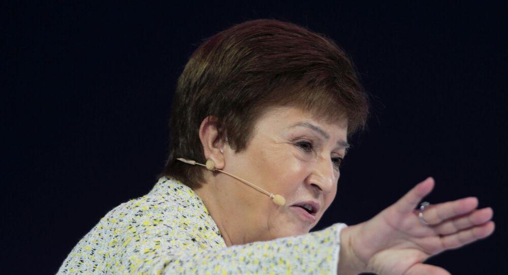كريستالينا جورجيفا، مديرة صندوق النقد الدولي