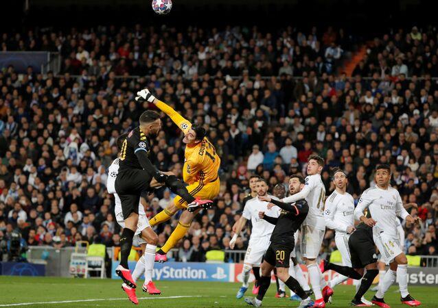ريال مدريد ومانشستر سيتي في دوري الأبطال