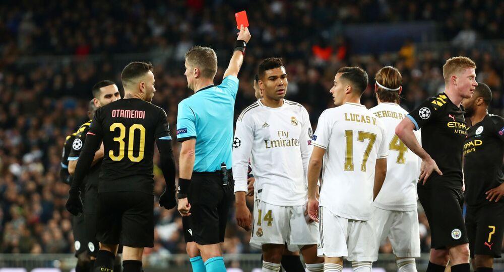 مباراة ريال مدريد ومانشستر سيتي (1-2) في دوري أبطال أوروبا
