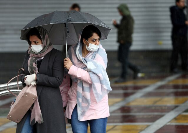 انتشار فيروس كورونا في مدينة طهران، إيران فبراير 2020