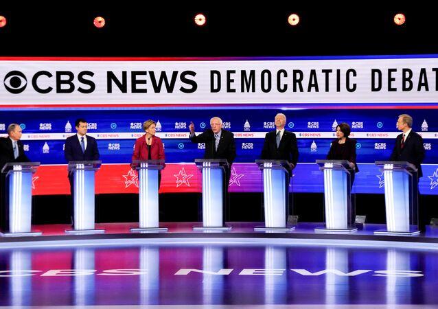 مناظرة مرشحي الحزب الديمقراطي في الانتخابات الرئاسية الأمريكية