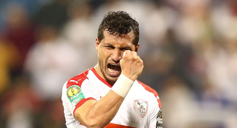 لاعب نادي الزمالك المصري، طارق حامد