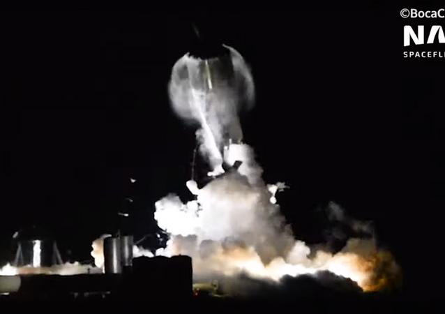 انفجار سفينة سبيس إكس