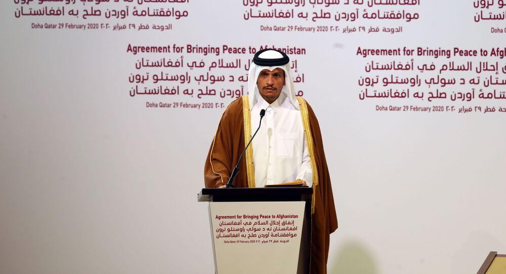 وزير الخارجية القطري الشيخ محمد بن عبد الرحمن آل الثاني