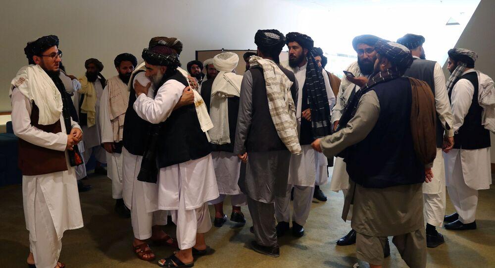 حركة طالبان أفغانستان في قطر