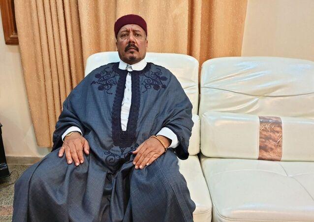 رئيس المجلس الأعلى لقبيلة الزوية الليبية، الشيخ السنوسي الحليق الزوي