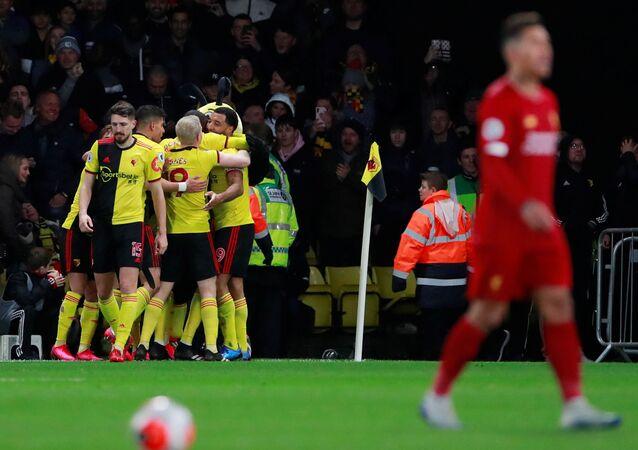واتفورد يهزم ليفربول في الدوري الإنجليزي