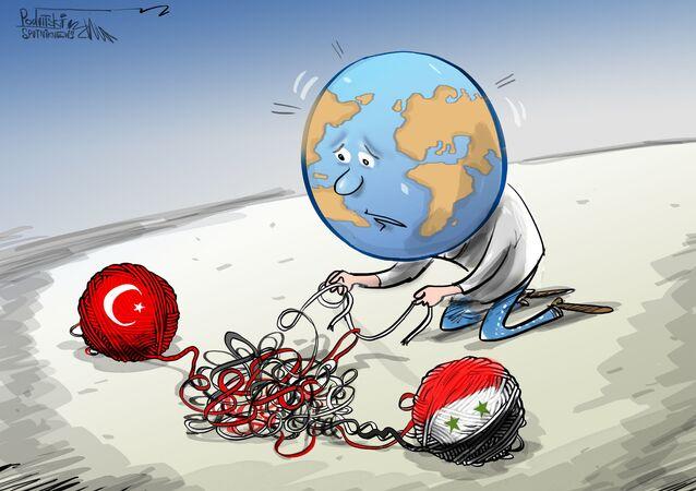 الاتحاد الأوروبي: هناك خطر الانزلاق إلى صراع دولي كبير في إدلب