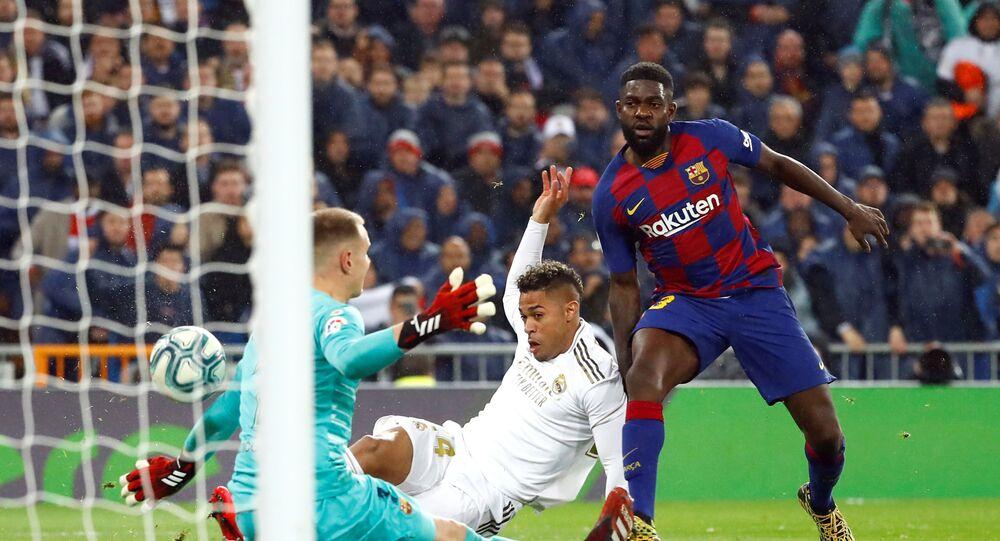 مباراة ريال مدريد وبرشلونة (2-0) في الدوري الإسباني