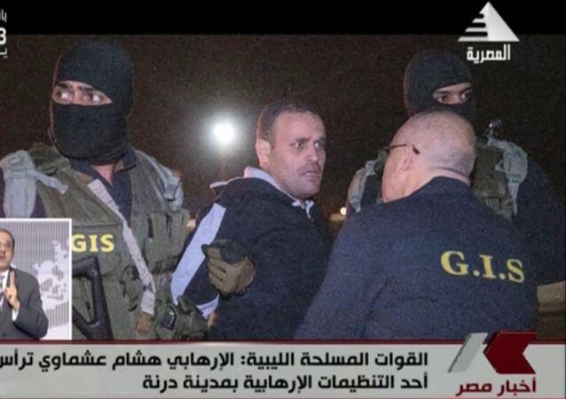 ضابط الجيش المصري السابق الإرهابي هشام عشماوي،