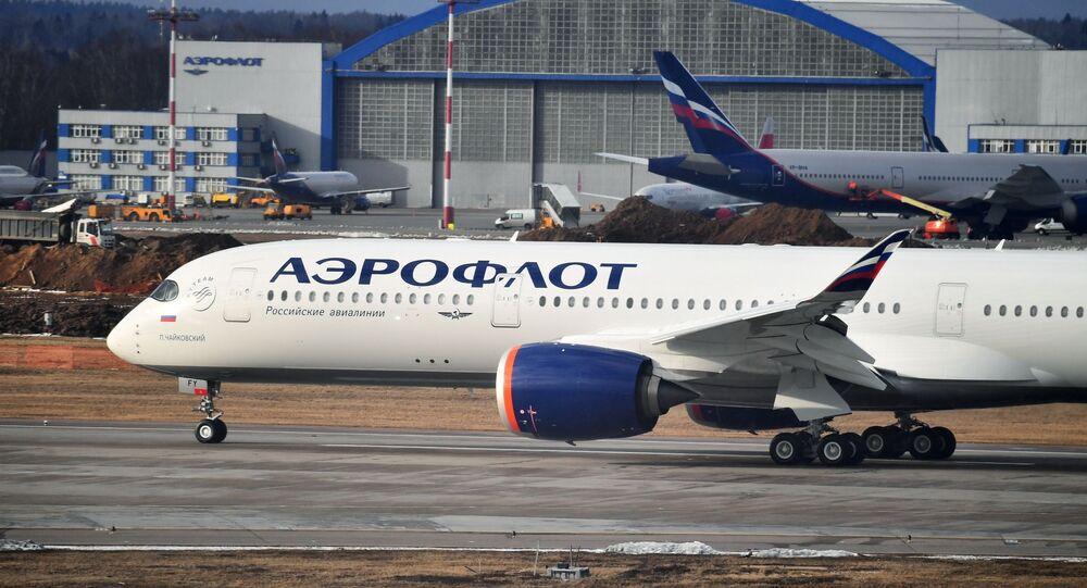 طيران مدني روسي
