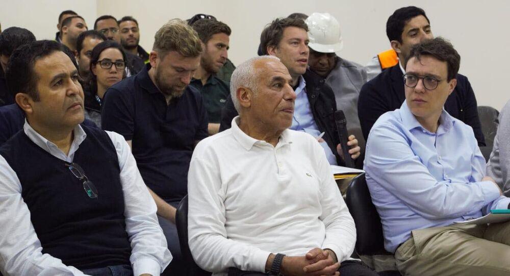 وفد الاتحاد الدولي لكرة اليد  يزو ر ملاعب كأس العالم 2021