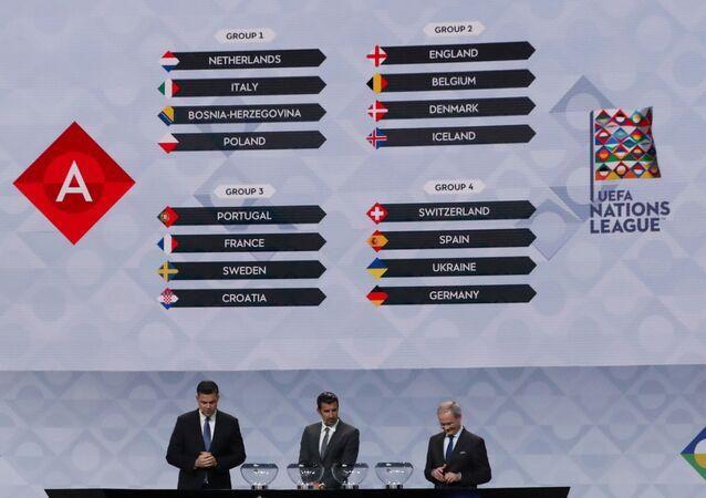 قرعة دوري أمم أوروبا 2020