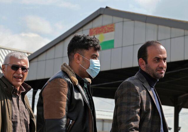 فيروس كورونا في إقليم كردستان في العراق