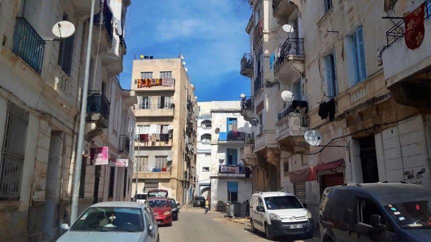 البنايات الآيلة للسقوط في تونس
