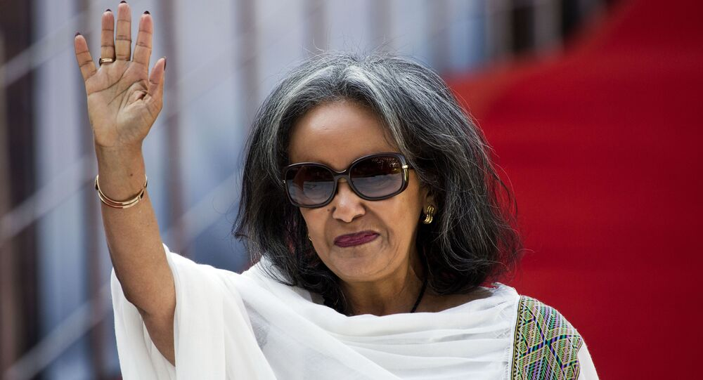 رئيسة إثيوبيا ساهلورك زودي