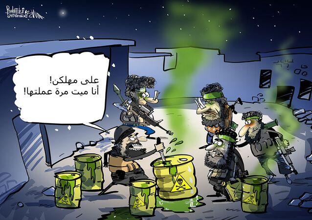 ابتزار كيماوي فاشل في إدلب