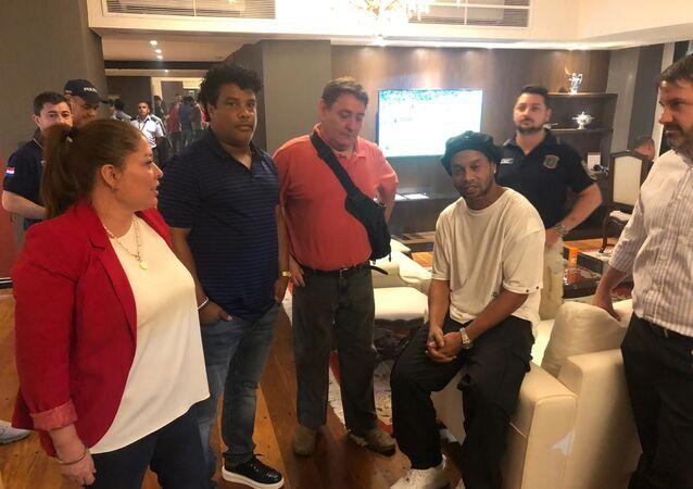 اعتقال رونالدينو